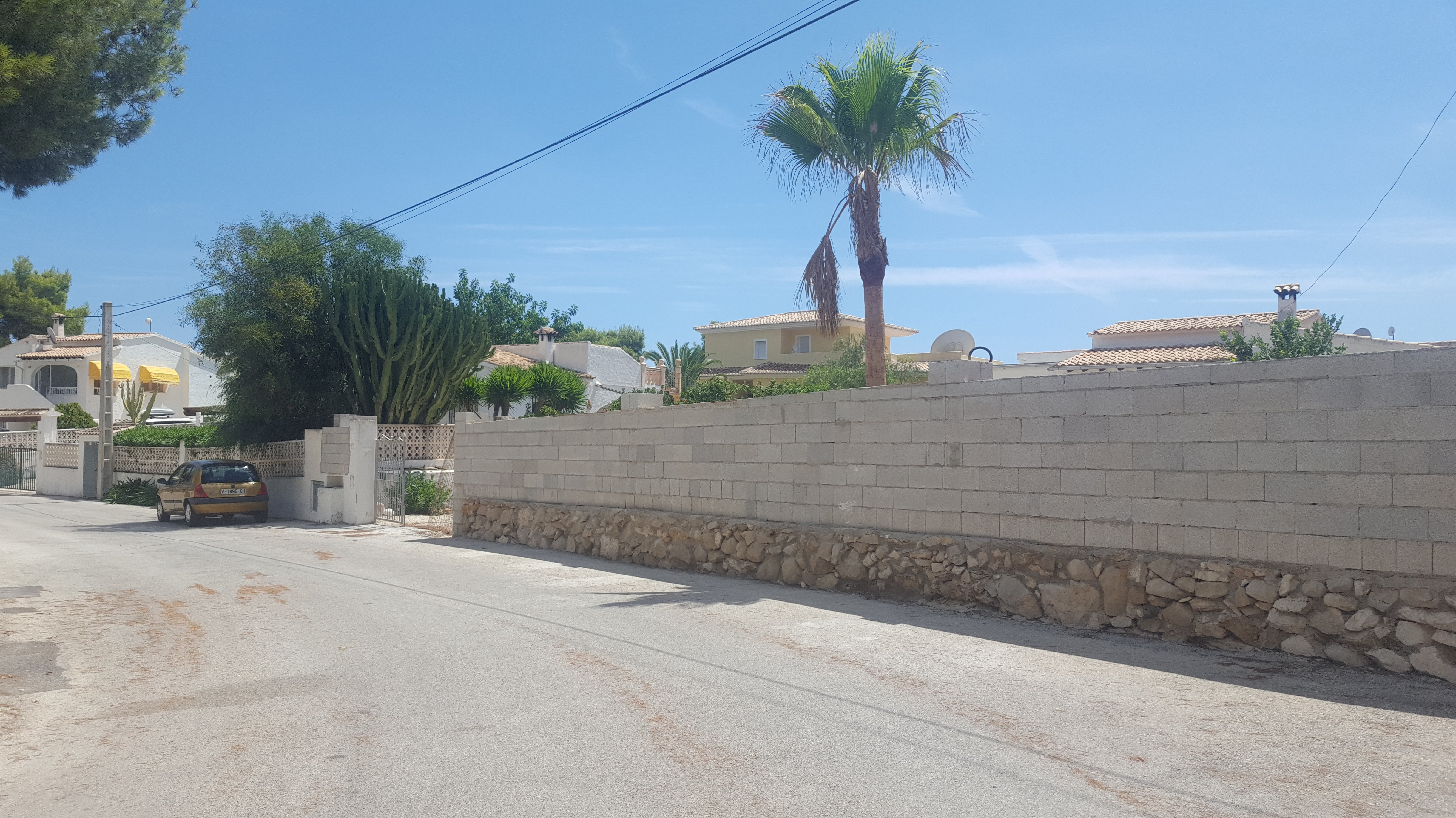 Start of refurbishment Villa c/ Manzano – Pinar – Moraira