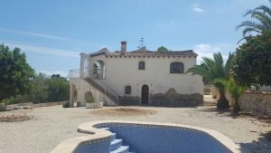 Moraira Villa Bargain Renovated Tossal Fanadix