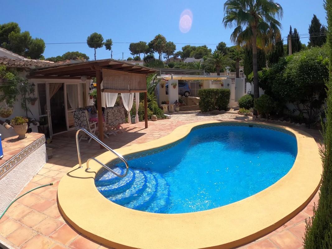 Huis in Moraira te koop wandelafstand centrum en strand